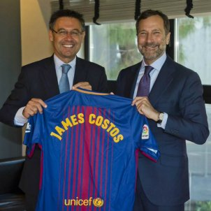 James Costos Barça   FCB
