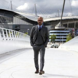 Gaurdiola Manchester City presentació EFE