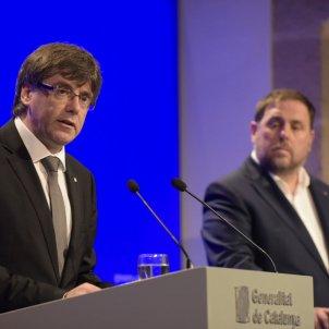 puigdemont i Junqueras canvis govern   Laura Gómez