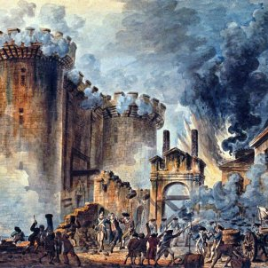 Presa de la Bastilla. Font The British Library.