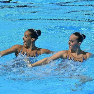 Ona Carbonell Paula Ramírez natació sincronitzada efe