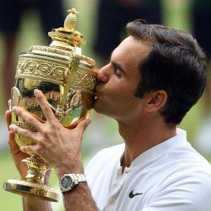 Roger Federer Wimbledon Efe