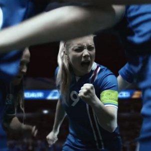 Islàndia futbol femení Captura Pantalla