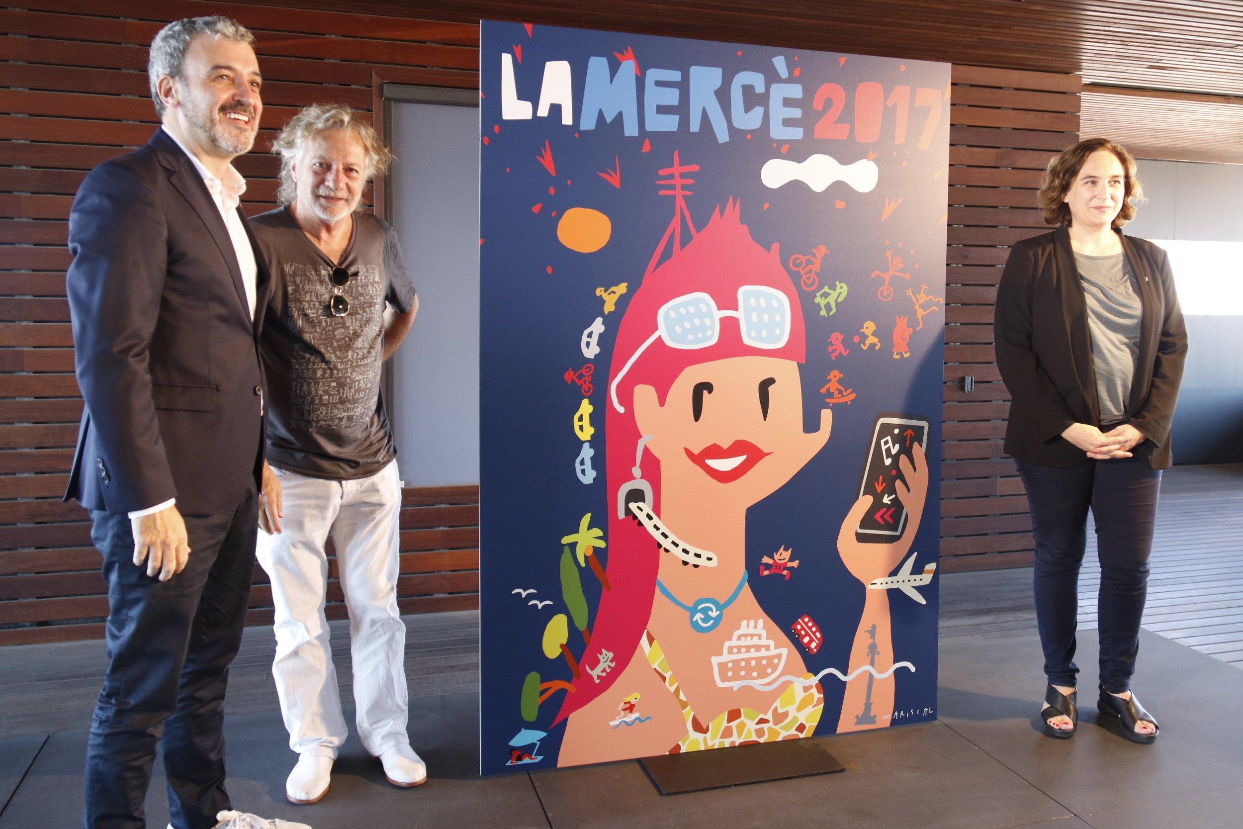 Javier mariscal ilustra el cartel de la merc 2017 for Mariscal disenador