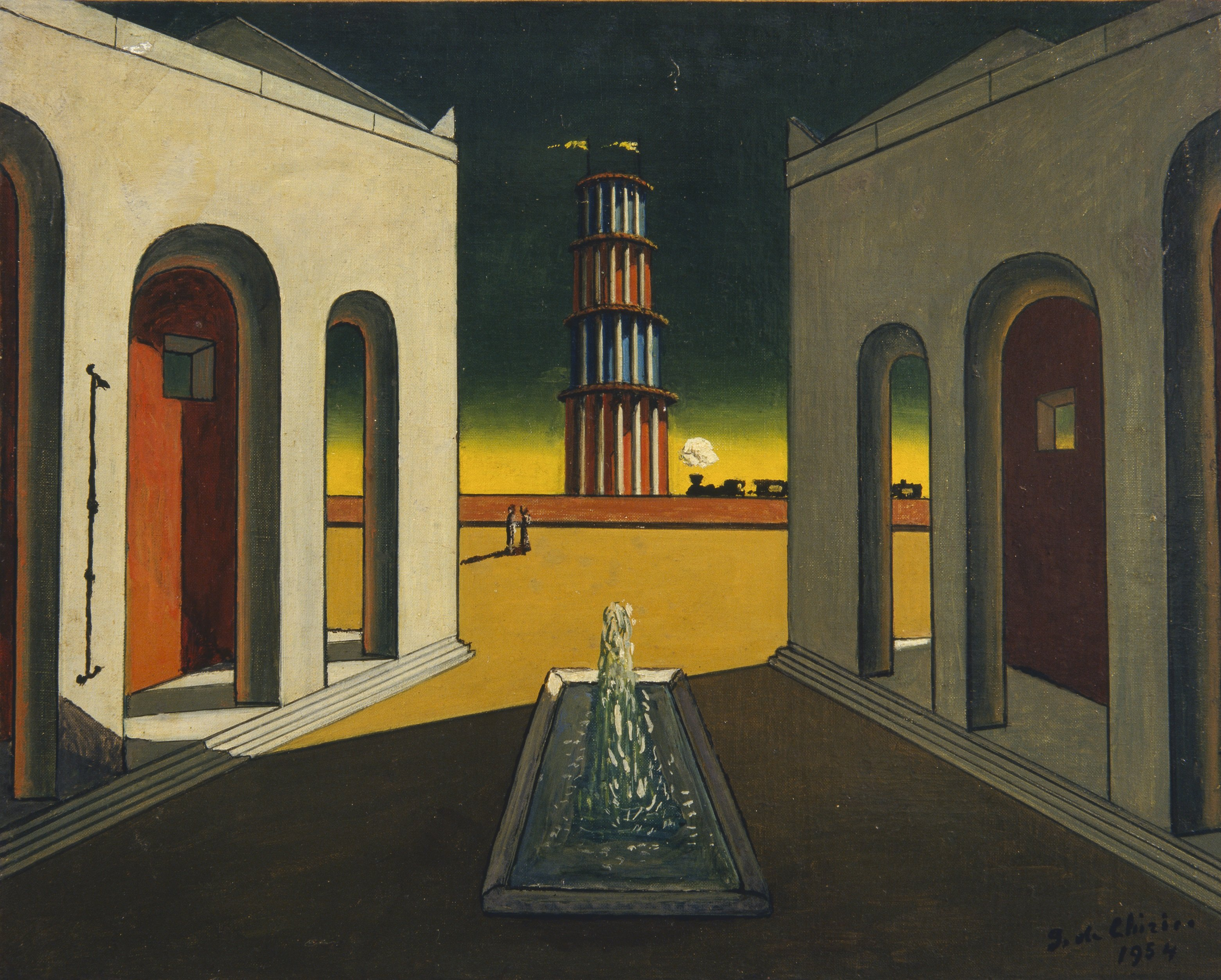 Famous Plaza Paintings