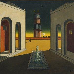 giorgio chirico pintura metafisica plaça d'italia