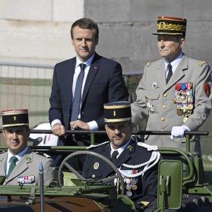 Emmanuel Macron i Pierre de Villiers / EFE