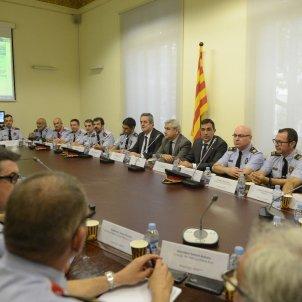 reunió comandaments mossos Forn i Soler / Laura Gómez