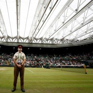 Wimbledon policia arreglar tennis Efe