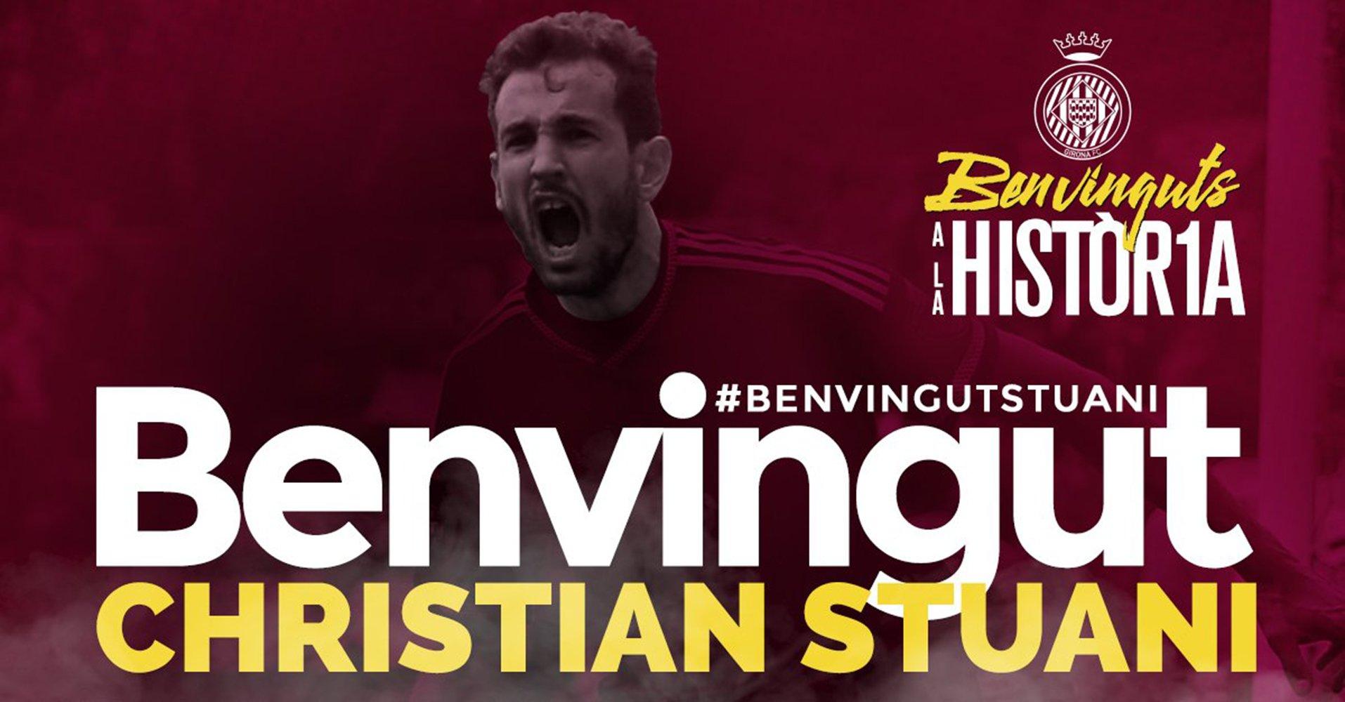 Christian Stuani @GironaFC