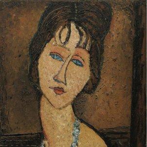 Amedeo Modigliani   Portrait de Jeanne Hébuterne au Collier