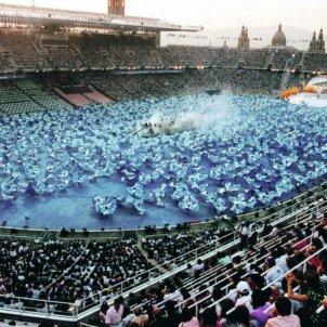 Ceremònia d'inauguracio Barcelona 92   EFE