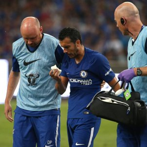 Pedro Rodriguez commoció cerebral Arsenal Chelsea   EFE