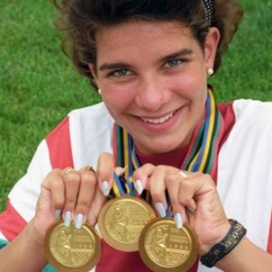 Kristina Egerszegi Barcelona 92 Medalles   YouTube