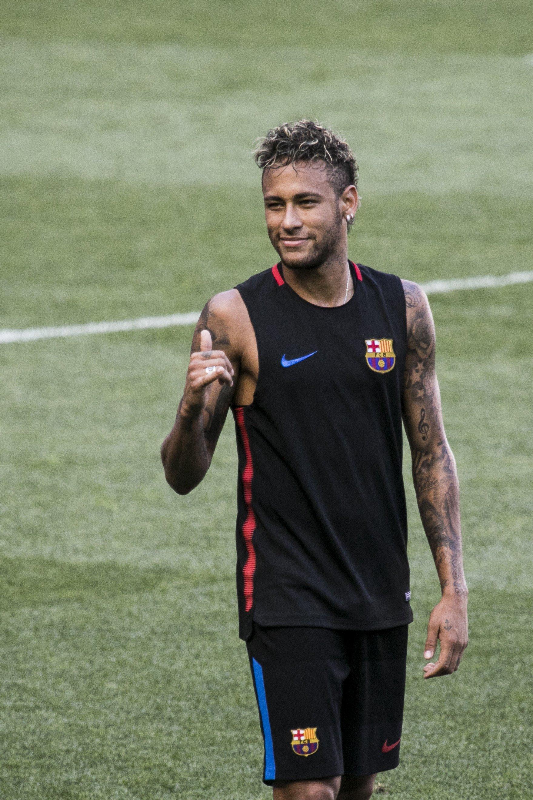 Neymar entrenament Efe