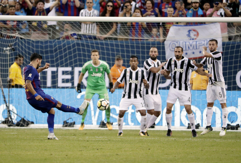 Luis Suarez Barça Juventus falta pretemporada   EFE