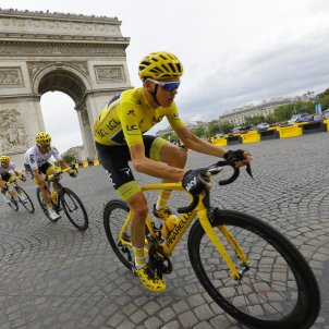 Chris Froome Paris Tour de França   EFE