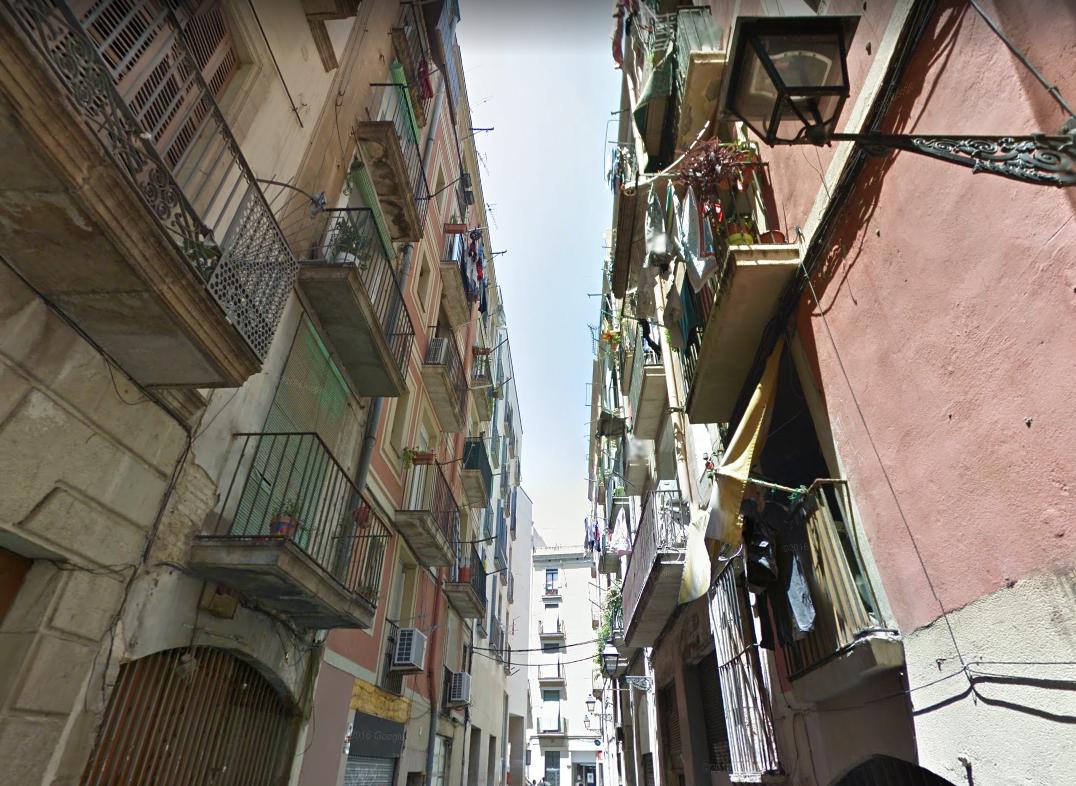 carrer de Lancaster, al Raval / Google Maps