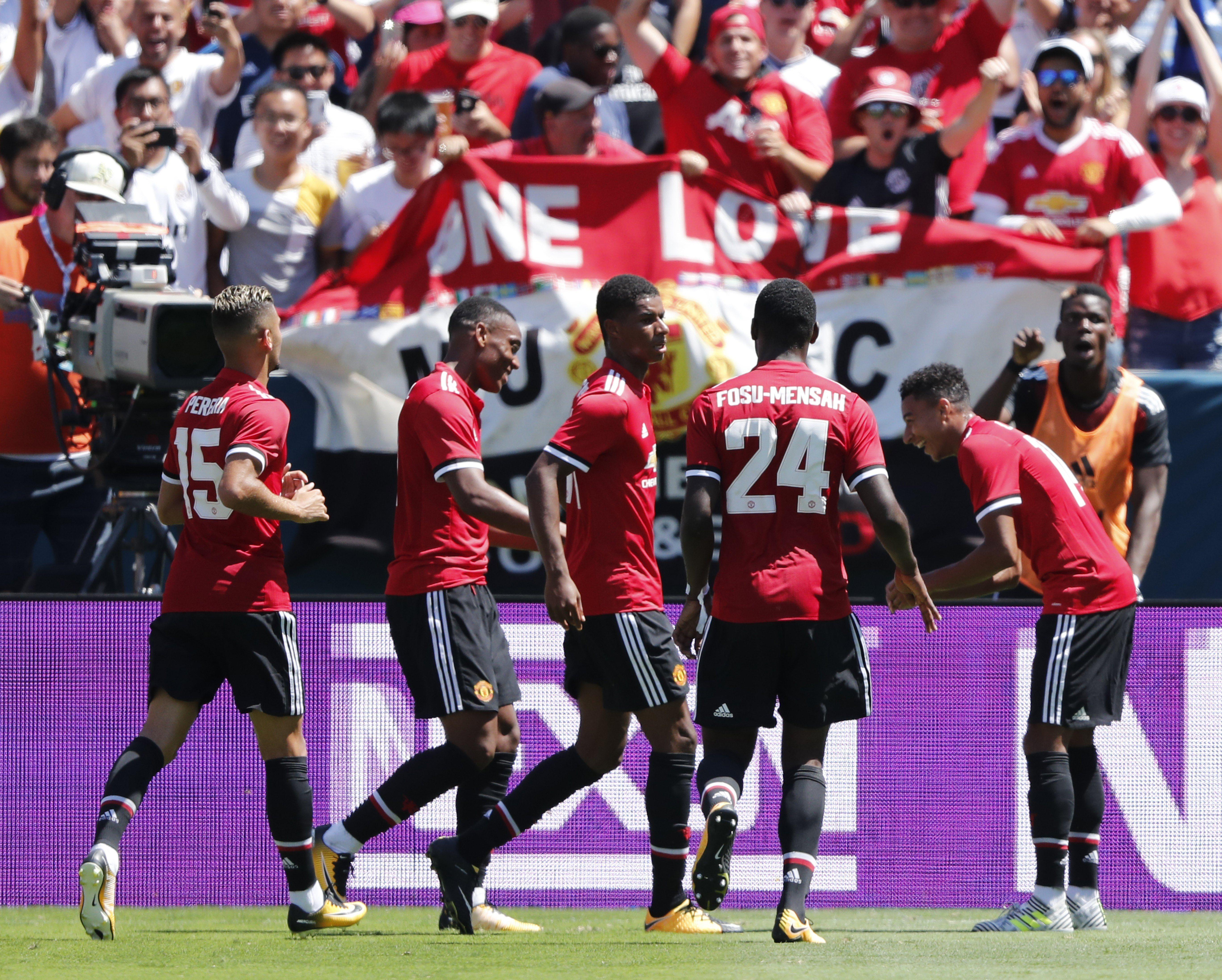 Manchester United Reial Madrid gira EEUU   EFE