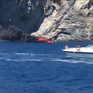 barca incendi