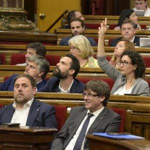 Votació Marta Rovira Parlament   Laura Gómez