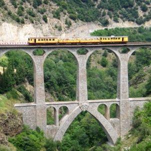 Tren groc. Thierry Llansades. Flickr