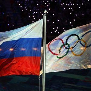 Rússia Jocs Olímpics banderes Efe