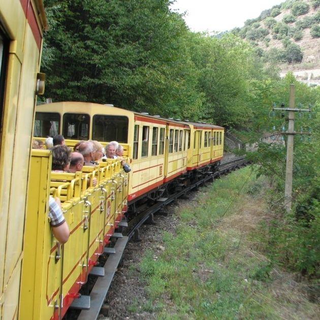El Tren Amarillo De Conflent