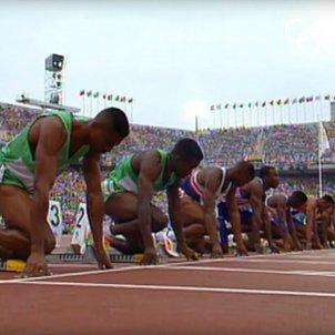 100 metres llisos Barcelona 92 OLYMPICS