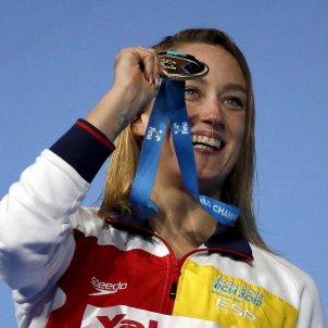 Mireia Belmonte or Mundial Budapest 200 papallona natació   EFE