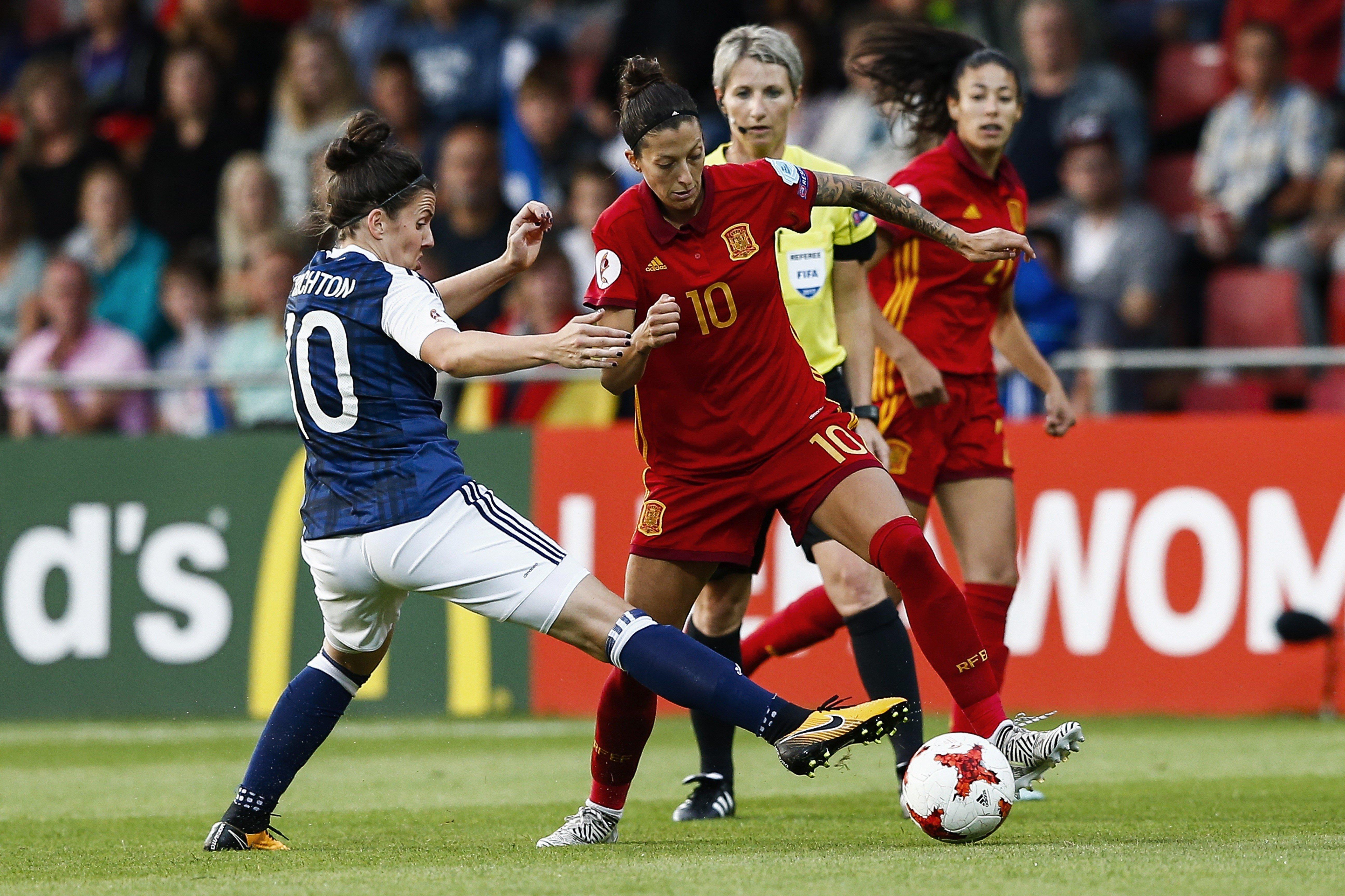Espanya Escocia Europeu femeni   EFE