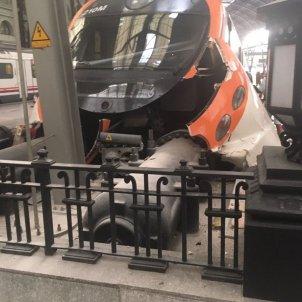 tren accidentat estació de frança