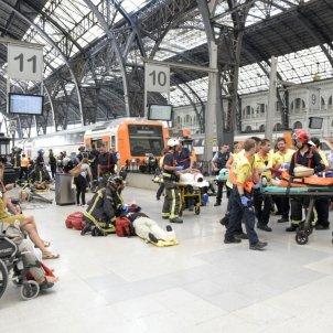 Accident tren / Laura Gómez