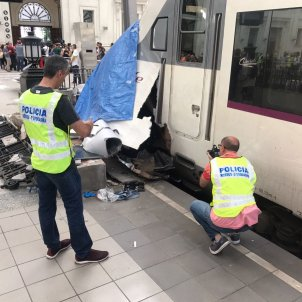 mossos accident tren