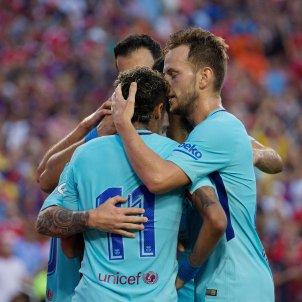 Neymar Jr Rakitic Barça Manchester United   EFE