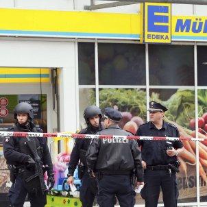 Supermercat Hamburg Policia - EFE