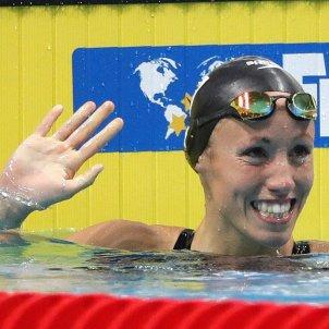 Jessica Vall Mundial Natació Budapest 200 braça   EFE
