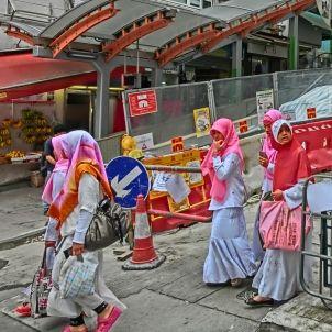 Vestit musulmà indonesis a Hong Kong Apr 2013 (Remyumksoa)