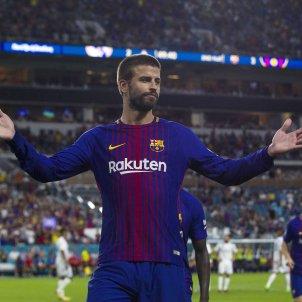 Gerard Pique Barça Madrid Miami   EFE