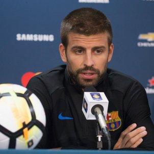 Gerard Pique premsa Estats Units pretemporada Barça   EFE