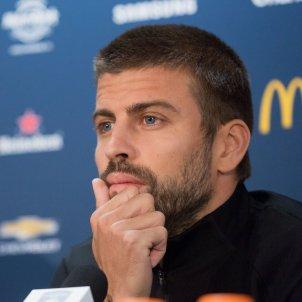 Gerard Pique roda premsa pretemporada Estats Units Barça   EFE