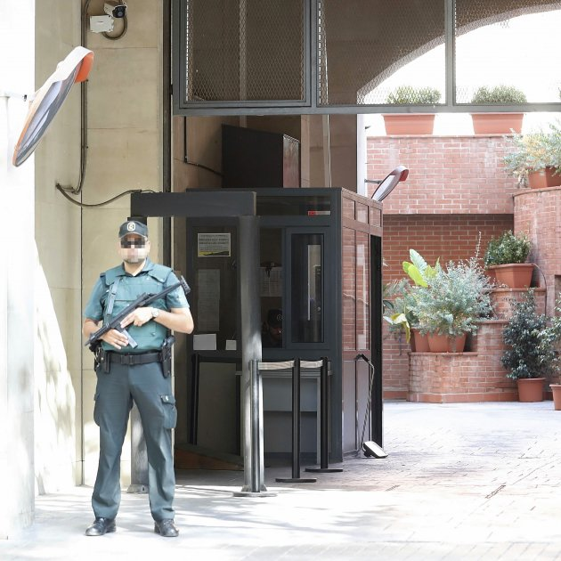 Caserna Guàrdia Civil Gràcia Efe