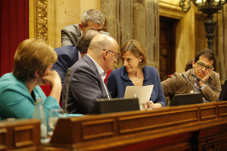 Cas forcadell la mesa del parlament declara al tsjc for Mesa parlament