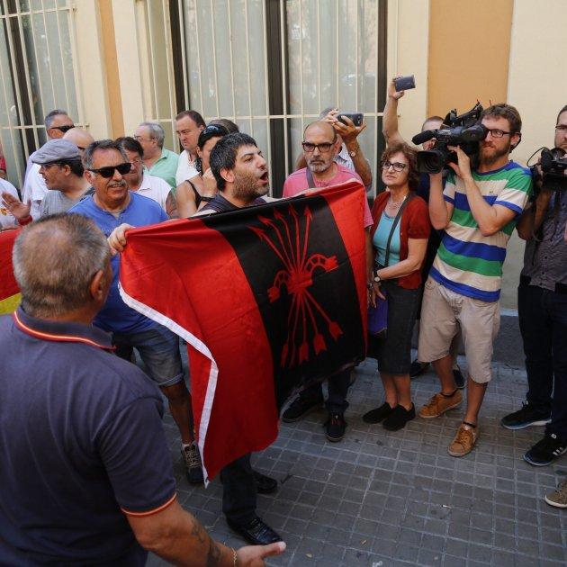 bandera falange Sergi Alcàzar