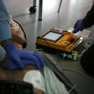 CPR desfibrilador