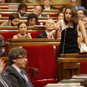 Arrimadas Puigdemont Ciutadans - Sergi Alcàzar
