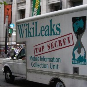 OccupyWallStreet WikiLeaks Truck