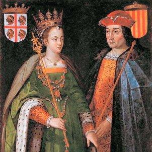 Ramon Berenguer IV de Barcelona i Peronella d'Aragó. Representació. Font Arxiu d'ElNacional