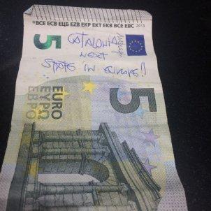 bitllet catala cinc euros