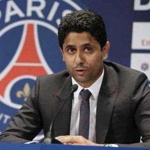 Al Khelaïfi president PSG   EFE